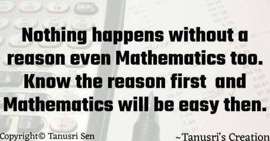 Quote on Mathematics